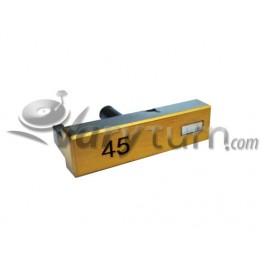 Technics SL-1200 GLD LTD 24K Gold Taster 45 rpm 45rpm Button