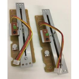 2x Original Technics Pitchfader MK2 Pair / Pitch mit Klick Unit